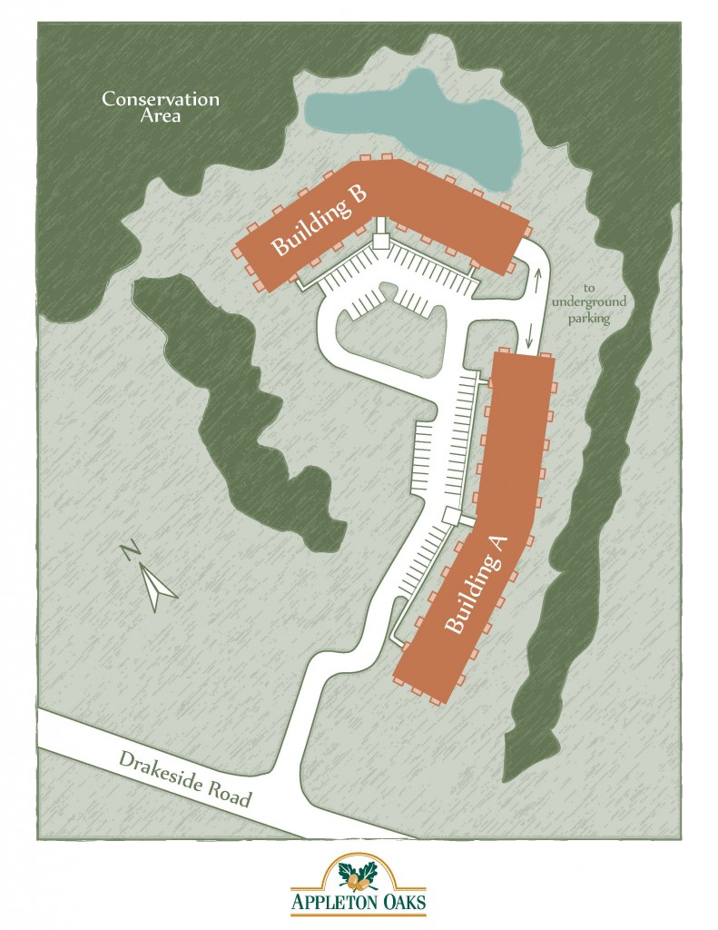 Appleton Oaks Site Plan