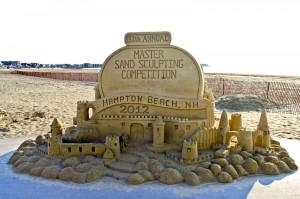 Sand Sculpture Hampton Beach 2012
