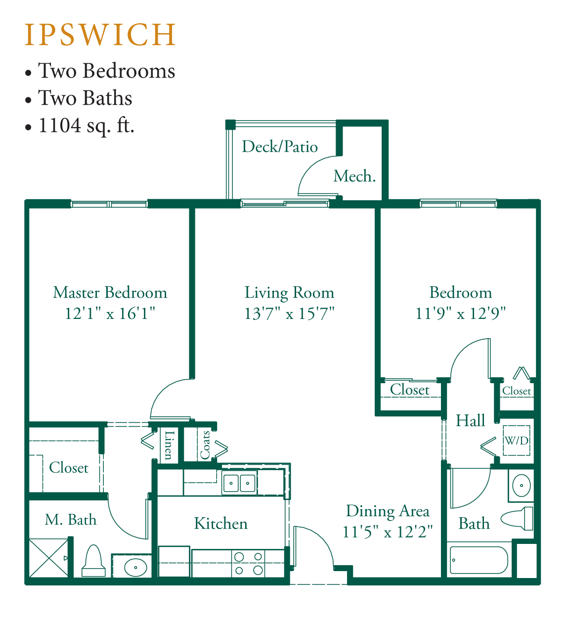 Appleton oaks floor plans for Ada home plans